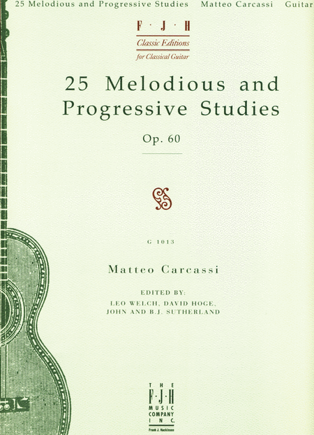 25 Melodious and Progressive Studies, Op. 60