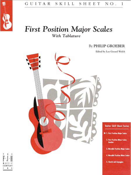 No. 1, First Position Major Scales