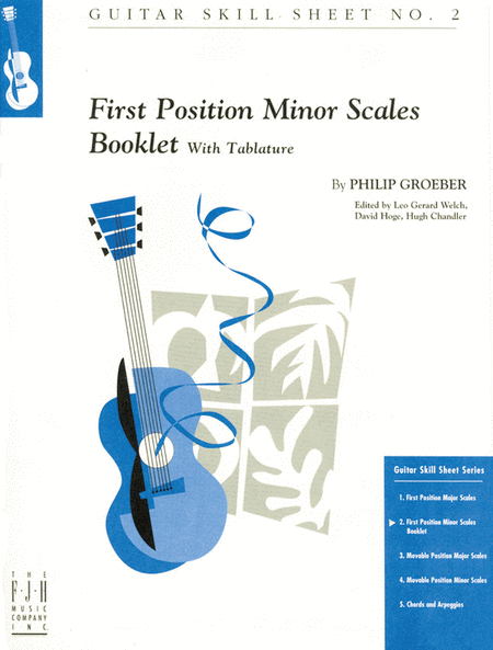 No. 2, First Position Minor Scales