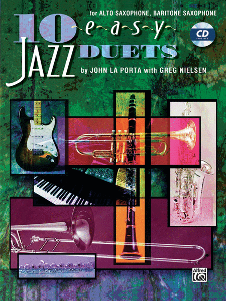 10 Easy Jazz Duets - Eb Edition