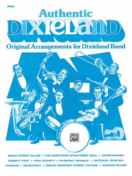 Authentic Dixieland Piano