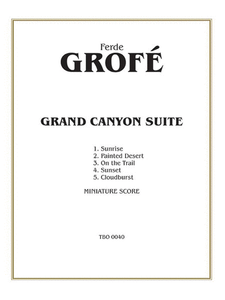 Grand Canyon Suite