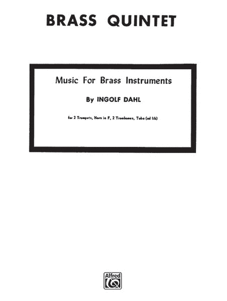 Music for Brass Instruments