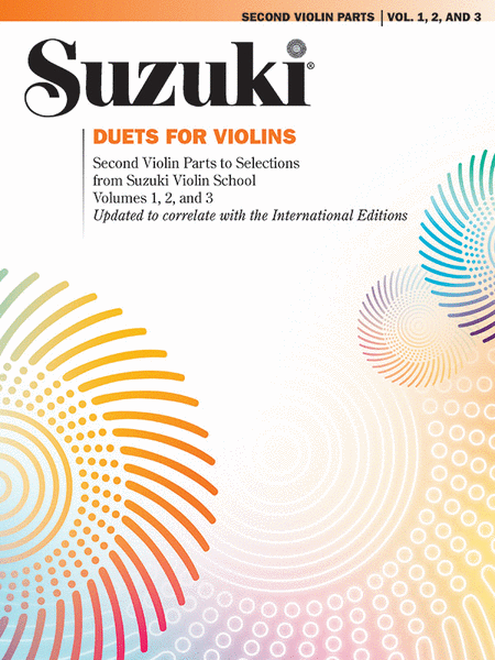 Suzuki Violin School, Volumes 1-3 Duets - 2nd Violin Parts