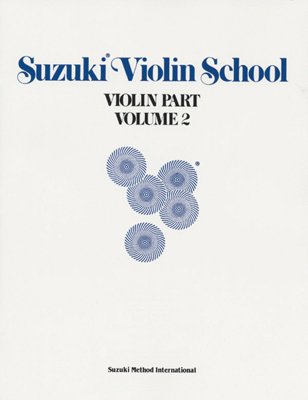 Suzuki Violin School, Volume 2 - Violin Part