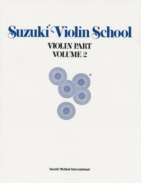 Suzuki Violin School, Volume 2 - Violin Part