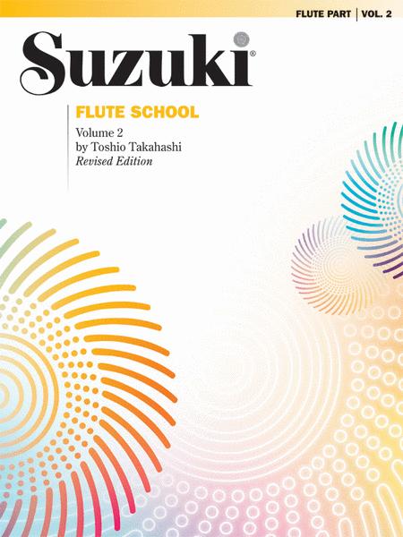 Suzuki Flute School, Volume 2 - Flute Part