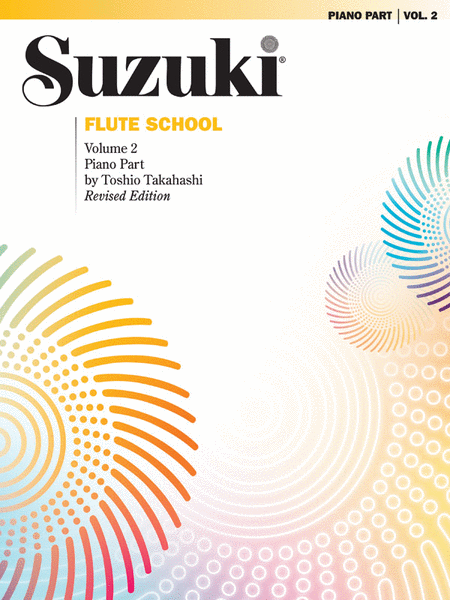 Suzuki Flute School Piano Accompaniment, Volume 2