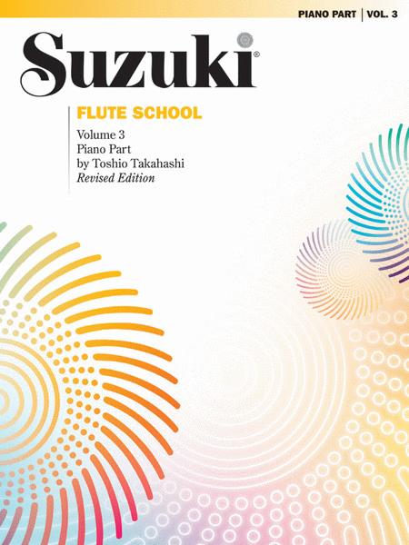 Suzuki Flute School Piano Accompaniment, Volume 3