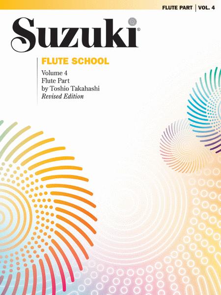 Suzuki Flute School, Volume 4