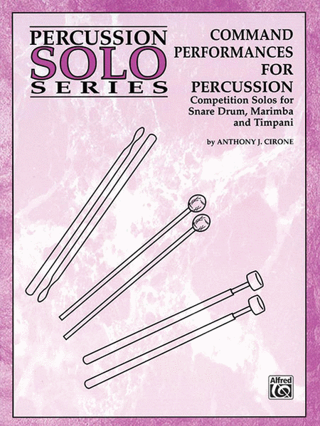 Command Performances for Percussion