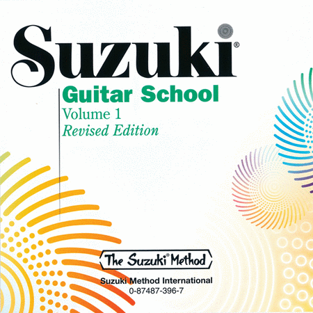 Suzuki Guitar School, Volume 1 - Compact Disc