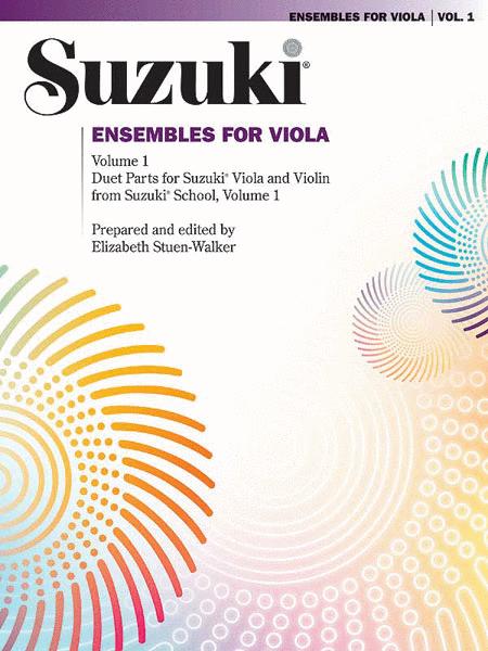 Ensembles for Viola, Volume 1
