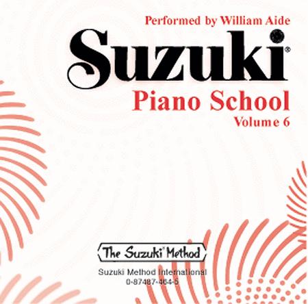 Suzuki Piano School, Volume 6 - Compact Disc