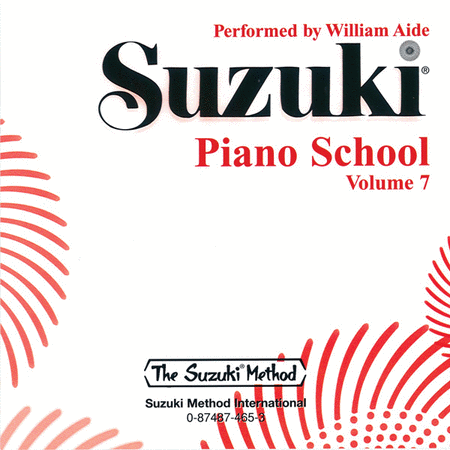Suzuki Piano School, Volume 7 - Compact Disc