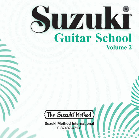 Suzuki Guitar School, Volume 2 - Compact Disc