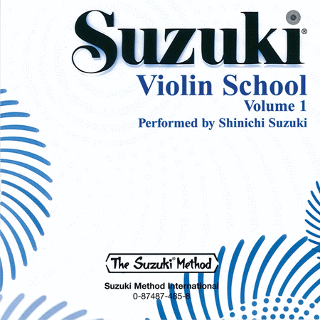 Suzuki Violin School, Volume 1 - Compact Disc