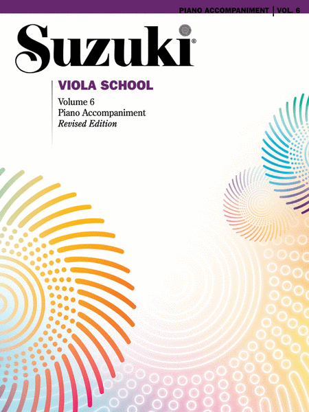 Suzuki Viola School Piano Accompaniment, Volume 6