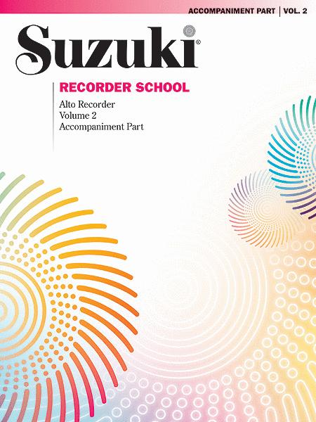 Suzuki Recorder School (Alto Recorder), Volume 2
