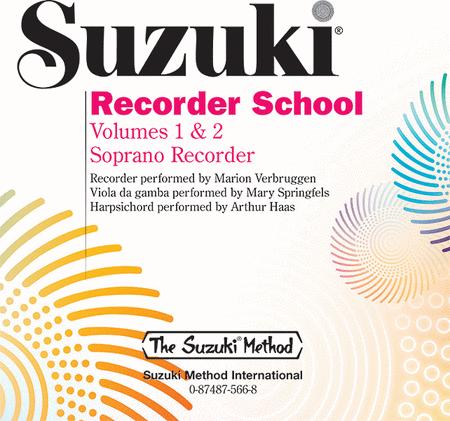 Suzuki Recorder School (Soprano), Volumes 1 & 2 - Compact Disc