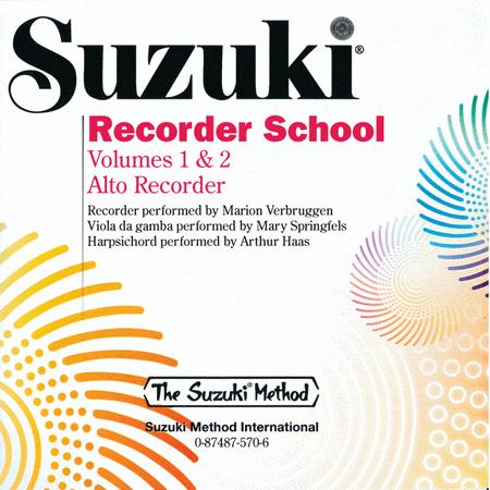 Suzuki Recorder School (Alto Recorder), Volumes 1 & 2