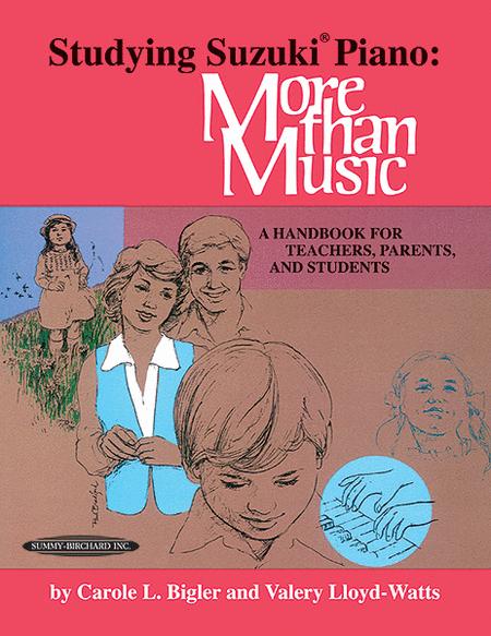Studying Suzuki Piano -- More Than Music
