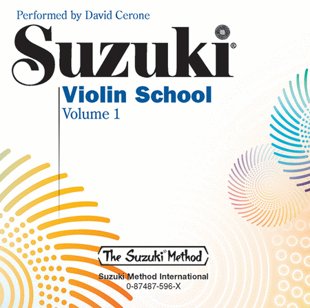 Suzuki Violin School, Volume 1 - Compact Disc