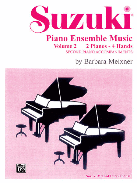 Suzuki Piano Ensemble Music for Piano Duo, Volume 2