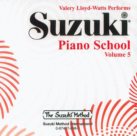 Suzuki Piano School, Volume 5 - Compact Disc