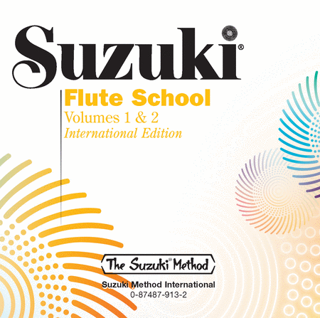 Suzuki Flute School, Volumes 1 & 2 - Compact Disc