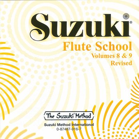 Suzuki Flute School, Volumes 8 & 9