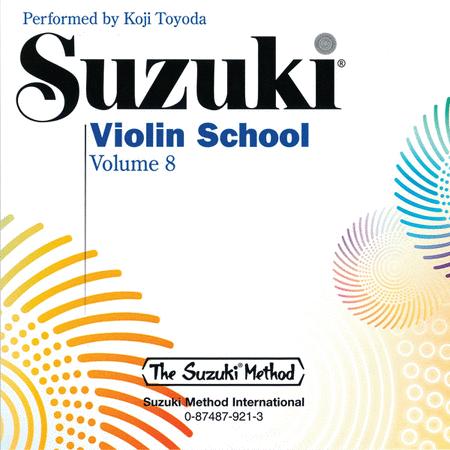 Suzuki Violin School, Volume 8 - Compact Disc
