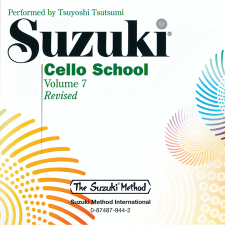 Suzuki Cello School, Volume 7 - Compact Disc