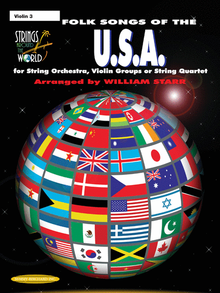 Strings Around the World -- Folk Songs of the U.S.A.