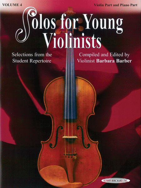 Solos for Young Violinists, Volume 4