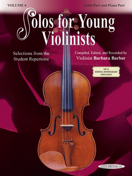 Solos for Young Violinists, Volume 6