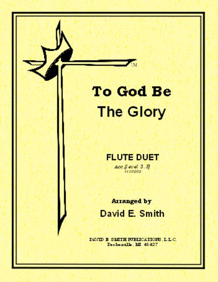 To God Be The Glory (accompaniment)