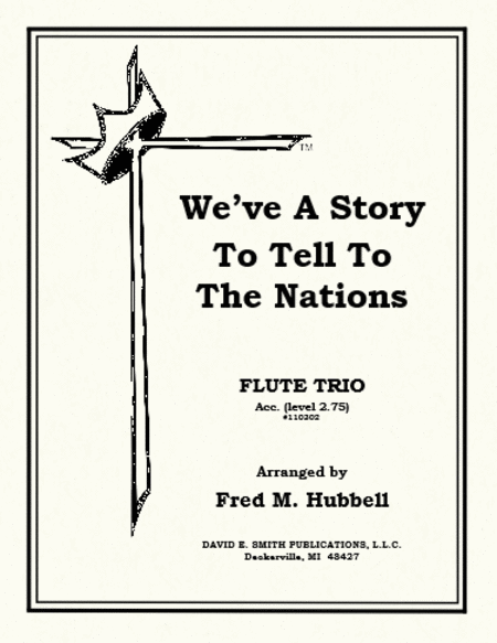 We've a Story to Tell to the Nations (accompaniment)