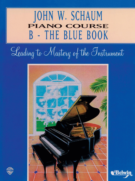 Piano Course B The Blue Book (revised)