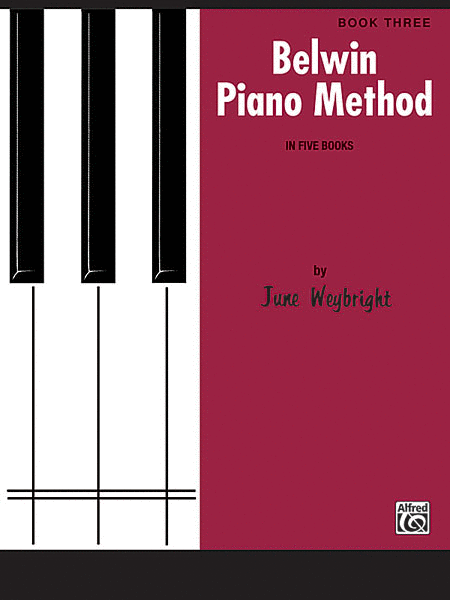 Belwin Piano Method, Book 3