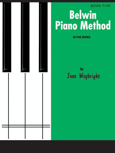 Belwin Piano Method, Book 5