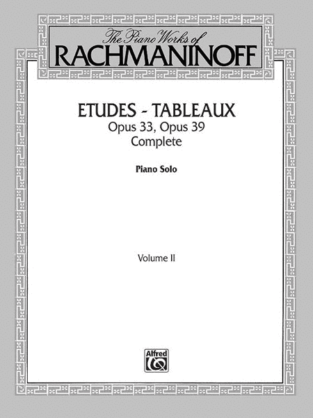 The Piano Works of Rachmaninoff, Volume 2