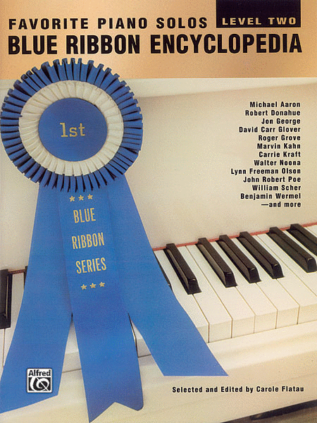 Blue Ribbon Encyclopedia Favorite Piano Solos