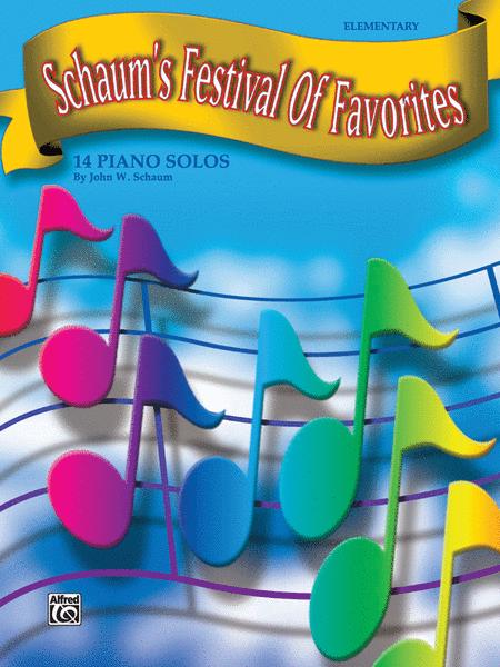Schaum's Festival of Favorites