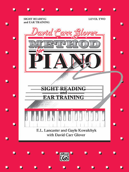 David Carr Glover Method For Piano Sight Reading And Ear Training Level 2