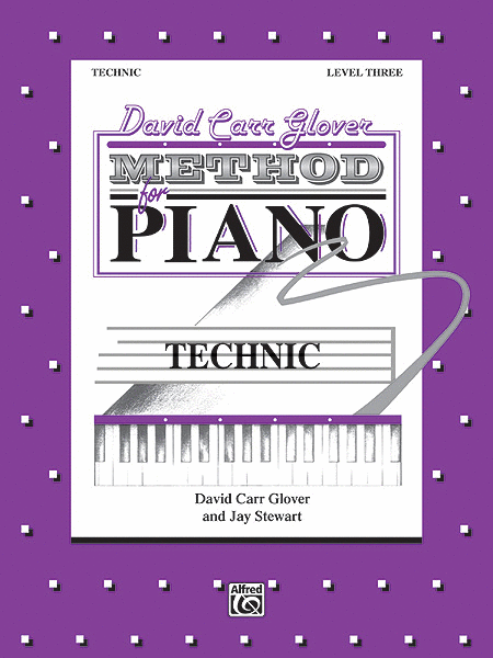 David Carr Glover Method for Piano Technic