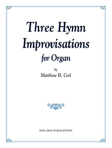 Three Hymn Improvisations