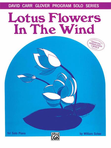Lotus Flowers in the Wind