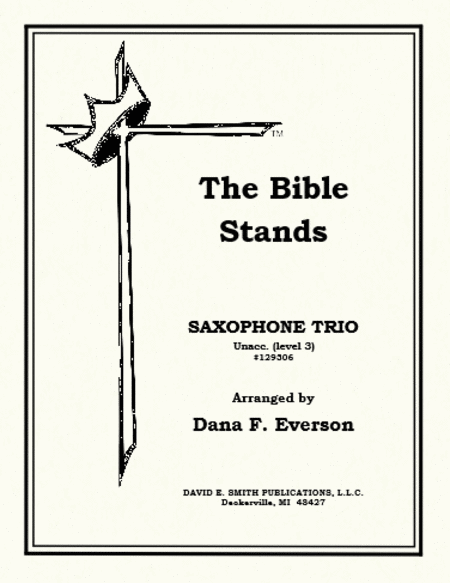 The Bible Stands