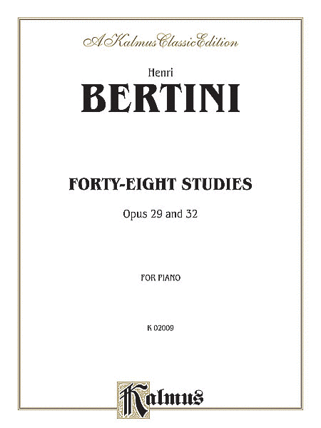Forty-eight Studies, Op. 29 & 32
